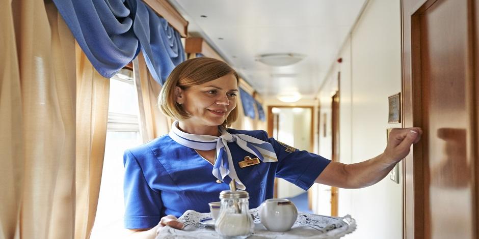Service dans le train