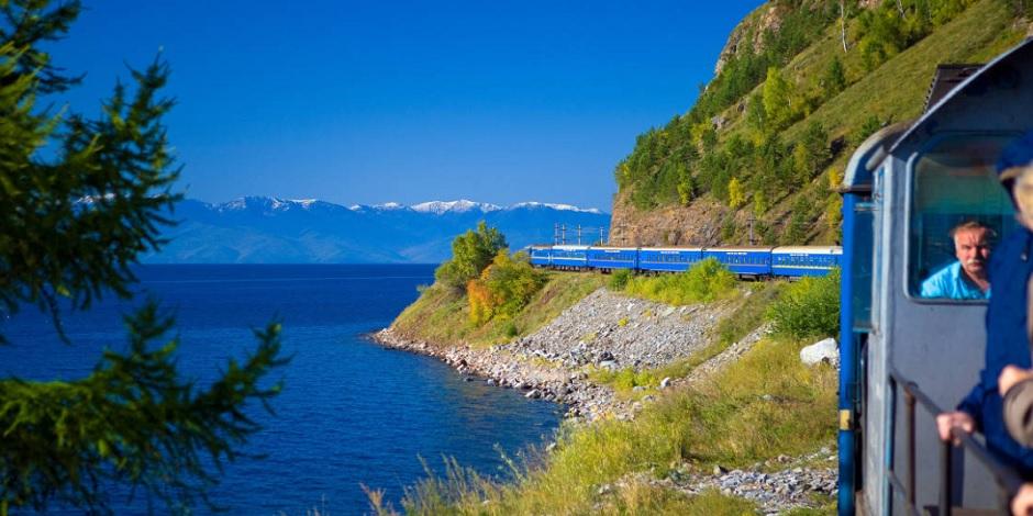 Au bord du Baikal