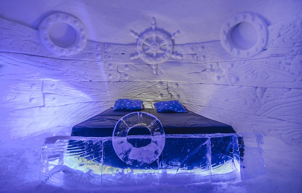 Snow Hotel Train Artic Explorer