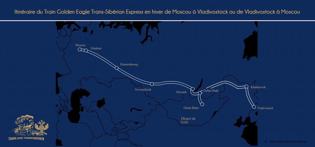 Carte-du-Train-Golden-Eagle-Trans-Sibérian-Express-en-hiver-de-Moscou-à-Vladivostock-ou-de-Vladivostock-à-Moscou