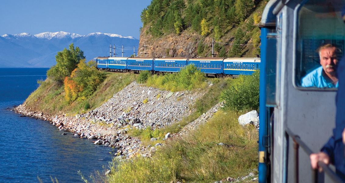 Voyage en train transsibérien de luxe Golden Eagle de Vladivostock à Moscou